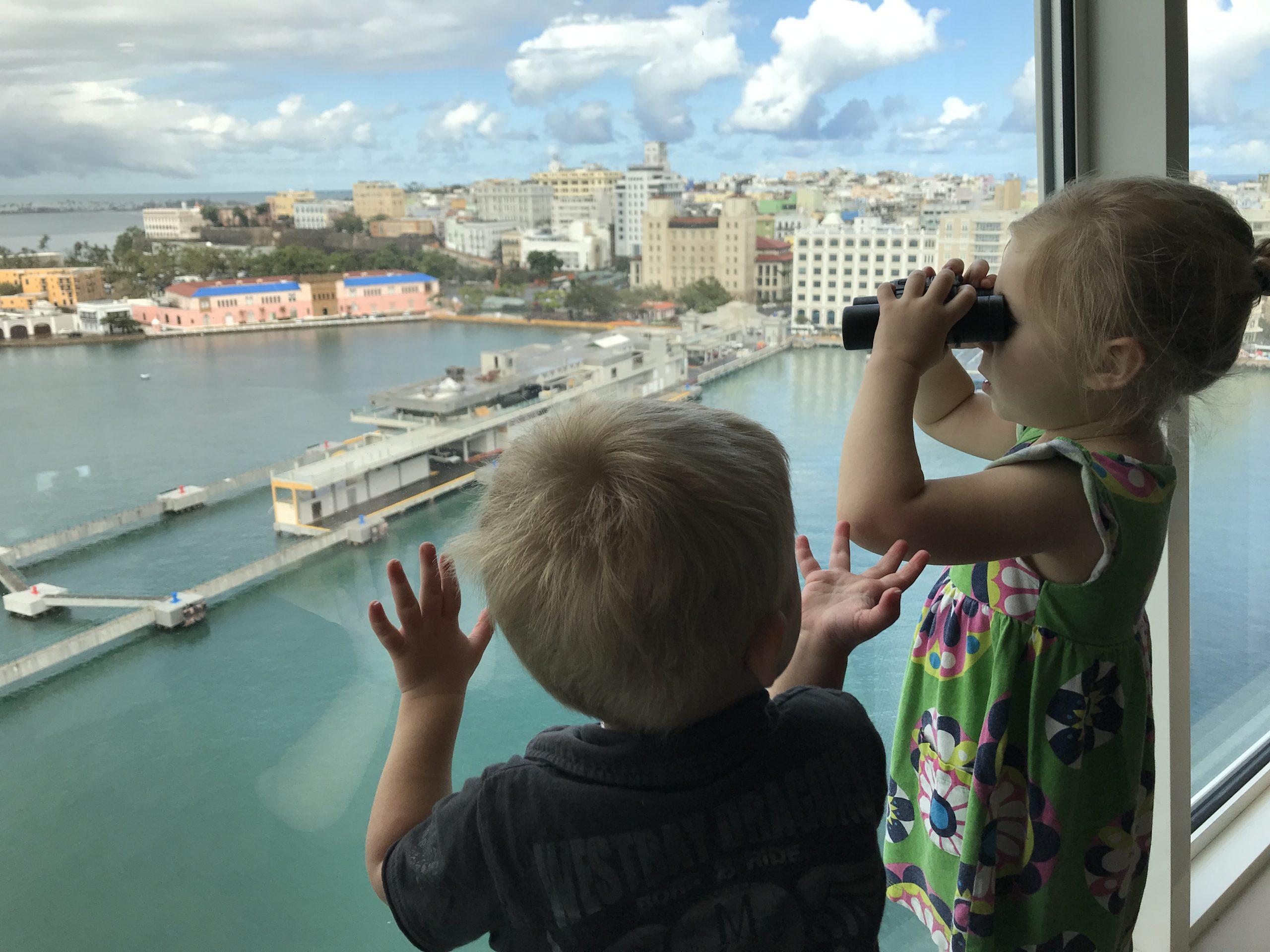 Kids cruising aboard Royal Caribbean